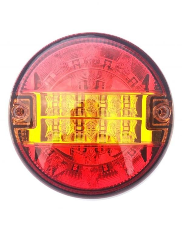 6x LED Rckleuchte Rund  140 Positionsleuchte Bremsleuchte ...