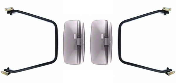 2x  Rückspiegel Außenspiegel Traktor Bagger 285x150 Spiegelarm Spiegelhalter SET