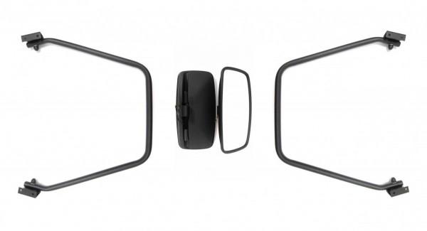 Außenspiegel Rückspiegel  Mercedes Vario Daf  Iveco  390x195 mm Beheizt