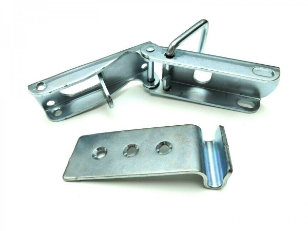 4x Exzenterverschluss mit Haken Bordwandverschluss Spannverschluss PKW Anhänger