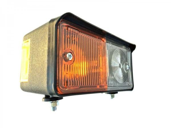 Positionslicht mit Blinker Rechts 12V 24V Schlepper Oldtimer mit Glühbirnen Set